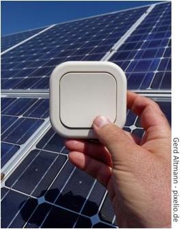 Strom ernten mit einer Solaranlage
