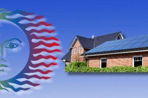 Sonne-Haus-Photovoltaik